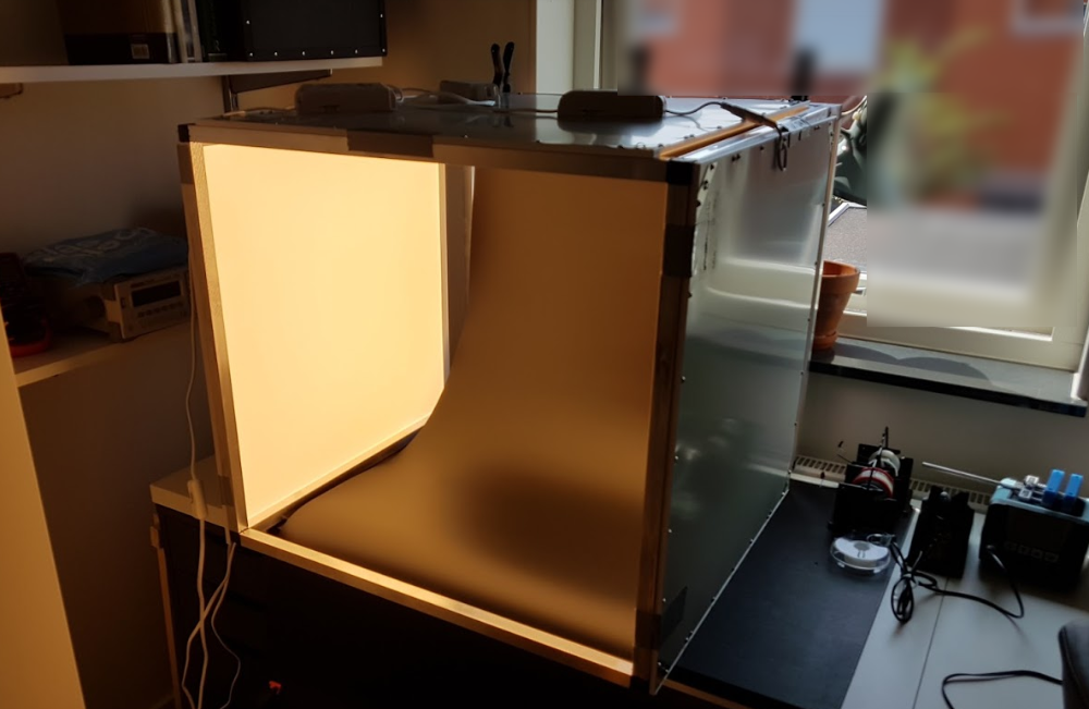 Second lightbox, fully assembled
