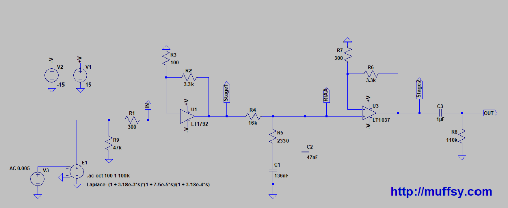 Muffsy Phono Kits - Schematics