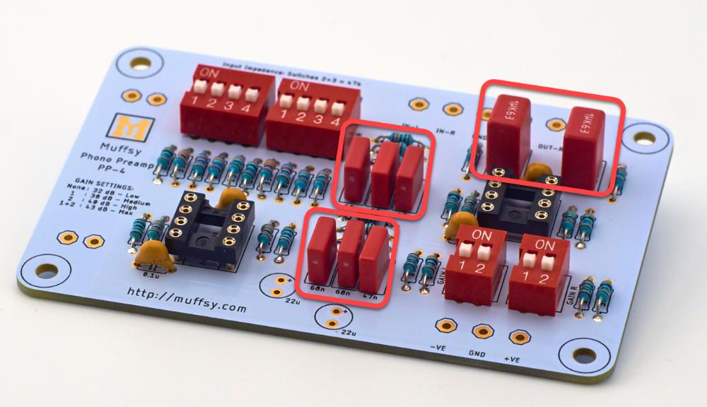 Muffsy Phono Kits - Build the Muffsy Phono Preamp