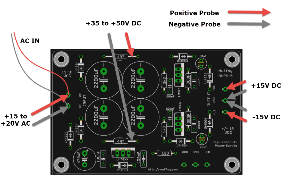 Troubleshooting - Muffsy Power Supply